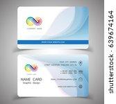 business card design set.... | Shutterstock .eps vector #639674164