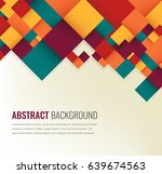 abstract background with... | Shutterstock .eps vector #639674563