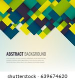 abstract background with... | Shutterstock .eps vector #639674620