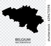 transparent   vector black map... | Shutterstock .eps vector #639675598