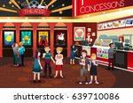 a vector illustration of... | Shutterstock .eps vector #639710086