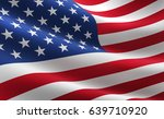 flag of the united states of... | Shutterstock . vector #639710920