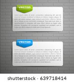 banner presentation  vector... | Shutterstock .eps vector #639718414