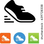 athletic shoe icon | Shutterstock .eps vector #639728338