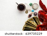 composition of esoteric objects ... | Shutterstock . vector #639735229