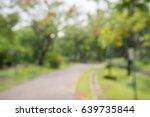 Abstract Blur City Park Bokeh...
