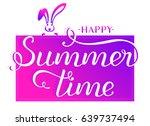 vector eps 10. hand drawn... | Shutterstock .eps vector #639737494