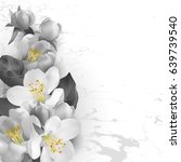 floral background  in graphic...   Shutterstock .eps vector #639739540