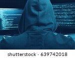 internet cyber crime concept....   Shutterstock . vector #639742018