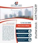 vector brochure  flyer ... | Shutterstock .eps vector #639742639