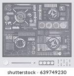 abstract future  concept vector ... | Shutterstock .eps vector #639749230