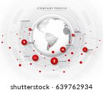company profile overview... | Shutterstock .eps vector #639762934