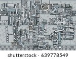 abstract seamless industrial...