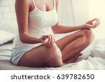 good morning. young beautiful... | Shutterstock . vector #639782650