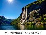 Geiranger Fjord  Waterfall...