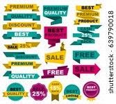 flat colorful sale design...   Shutterstock .eps vector #639790018