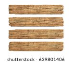 Wooden Planks 3d Rendering