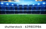 the soccer stadium with the... | Shutterstock . vector #639803986