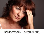 human body with ache | Shutterstock . vector #639804784