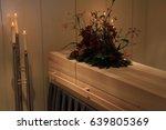 wooden casket   contemporary... | Shutterstock . vector #639805369