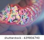 gut bacteria  microbiome.... | Shutterstock . vector #639806740