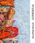 Whole Lobster With Seafood ...