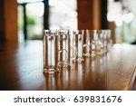 glasses for shots | Shutterstock . vector #639831676