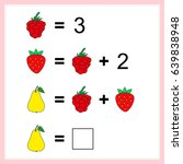 mathematics task.  learning... | Shutterstock .eps vector #639838948