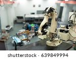 industry 4.0 concept. automate... | Shutterstock . vector #639849994