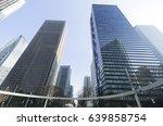 tokyo city landscape shinjuku...   Shutterstock . vector #639858754