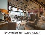 hotel lobby interior   Shutterstock . vector #639873214