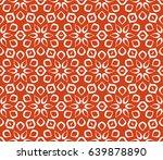 geometric pattern in floral...   Shutterstock .eps vector #639878890