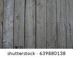 wood deck  | Shutterstock . vector #639880138