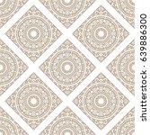 seamless oriental pattern.... | Shutterstock . vector #639886300