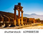 the famous antique site of... | Shutterstock . vector #639888538