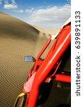 buggies race in huacachina  ica ...   Shutterstock . vector #639891133