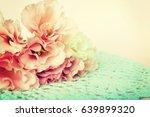 roses background | Shutterstock . vector #639899320