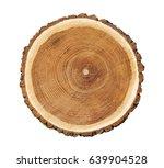 Big Tree Trunk Slice Cut From...