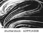 Grunge paint texture. Distress black rough background. Noise dirty rectangle stamp. Dirty artistic background. Vector illustration | Shutterstock vector #639914308