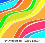 background of wavy figures... | Shutterstock .eps vector #639915634