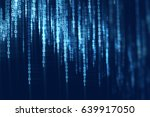 digital code number abstract... | Shutterstock . vector #639917050