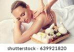 massage.  body care. spa body... | Shutterstock . vector #639921820