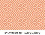 geometric ornament on color... | Shutterstock .eps vector #639922099