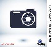 camera vector icon eps