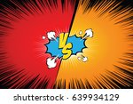 Stock vector fight backgrounds comics style design vector illustration 639934129