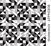 black  white and gray abstract... | Shutterstock .eps vector #639942838