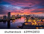 bangkok cityscape. bangkok... | Shutterstock . vector #639942853