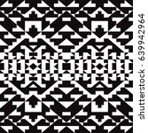 decorative black and white... | Shutterstock .eps vector #639942964