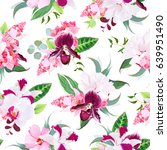 Exotic Tropical Floral Bouquet...