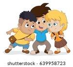 the child group talking plan...   Shutterstock .eps vector #639958723